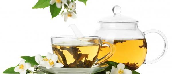 val je van groene thee af